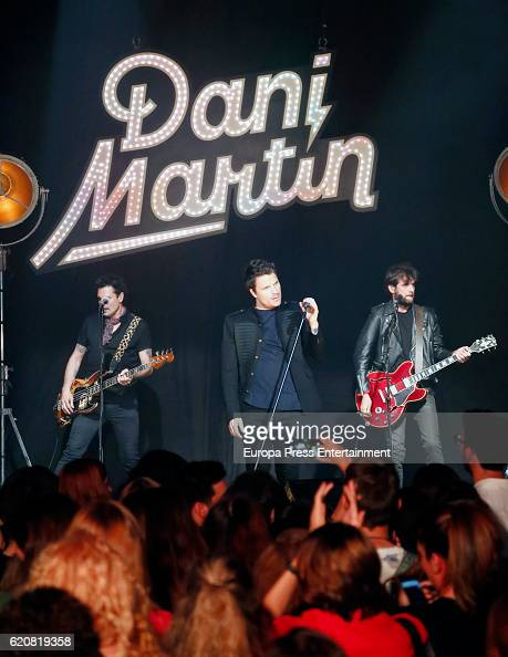 Singer Dani Martin performs during a concert of LOS40 Basico Opel Corsa at Barcelo theatre on November 2 2016 in Madrid Spain