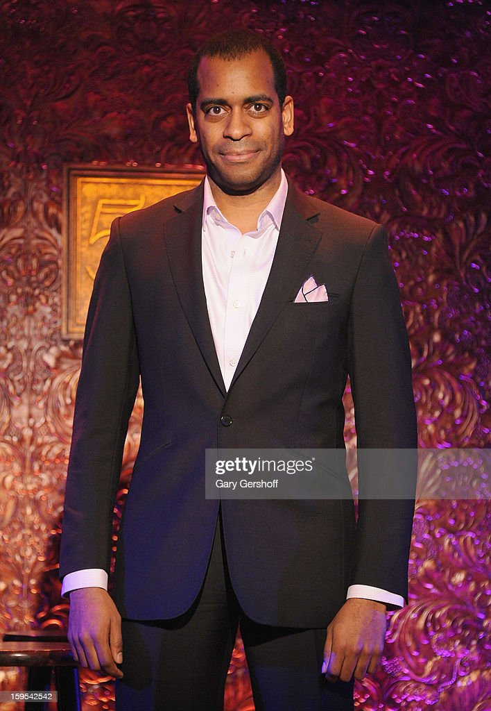 Singer Daniel Breaker attends a press preview at 54 Below on January 15, 2013 in New York City.