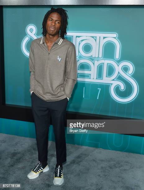 Singer Daniel Caesar attends the 2017 Soul Train Music Awards at the Orleans Arena on November 5 2017 in Las Vegas Nevada