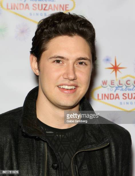 Singer Daniel Emmet attends the debut of 'Linda Suzanne Sings Divas of Pop' at the South Point Hotel Casino on October 15 2017 in Las Vegas Nevada