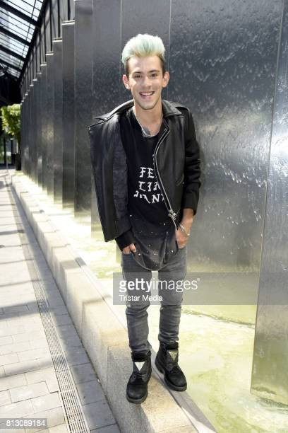 Singer Daniele Negroni poses during a photo session on July 7 2017 in Berlin Germany