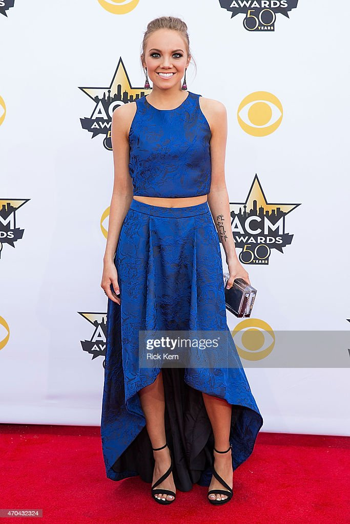 Singer Danielle Bradbery attends the 50th Academy Of Country Music Awards at ATT Stadium on April 19 2015 in Arlington Texas