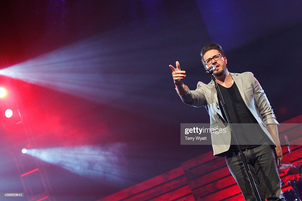 Singer Danny Gokey performs at the 2014 Inspirational Country Music Awards on November 13, 2014 in Nashville, Tennessee.