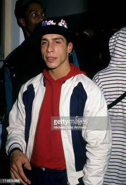 Singer Danny Wood of New Kids On The Block circa 1989