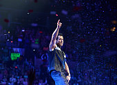 Singer Danny Wood of New Kids On The Block performs at TD Banknorth Garden on June 24 2015 in Boston Massachusetts