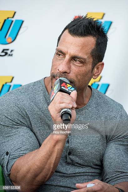 Singer Danny Wood of NKOTB visits Coney Island on June 9 2016 in New York City