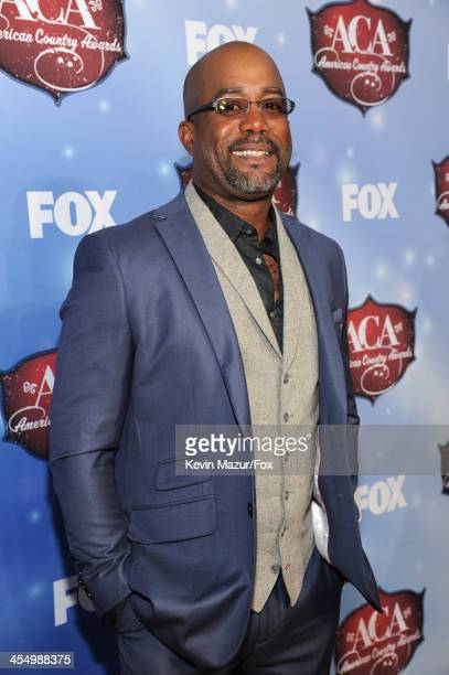 Singer Darius Rucker arrives at the American Country Awards 2013 at the Mandalay Bay Events Center on December 10 2013 in Las Vegas Nevada