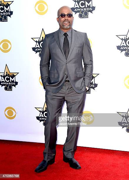 Singer Darius Rucker attends the 50th Academy of Country Music Awards at ATT Stadium on April 19 2015 in Arlington Texas