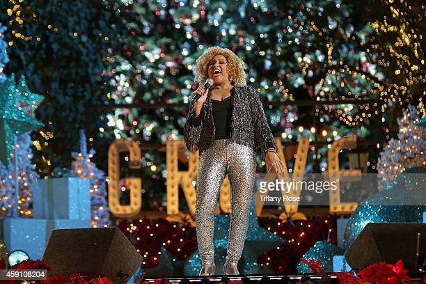 Singer Darlene Love performs at The Grove's 12th Annual Christmas Tree Lighting Spectacular Presented By Citi at The Grove on November 16 2014 in Los...