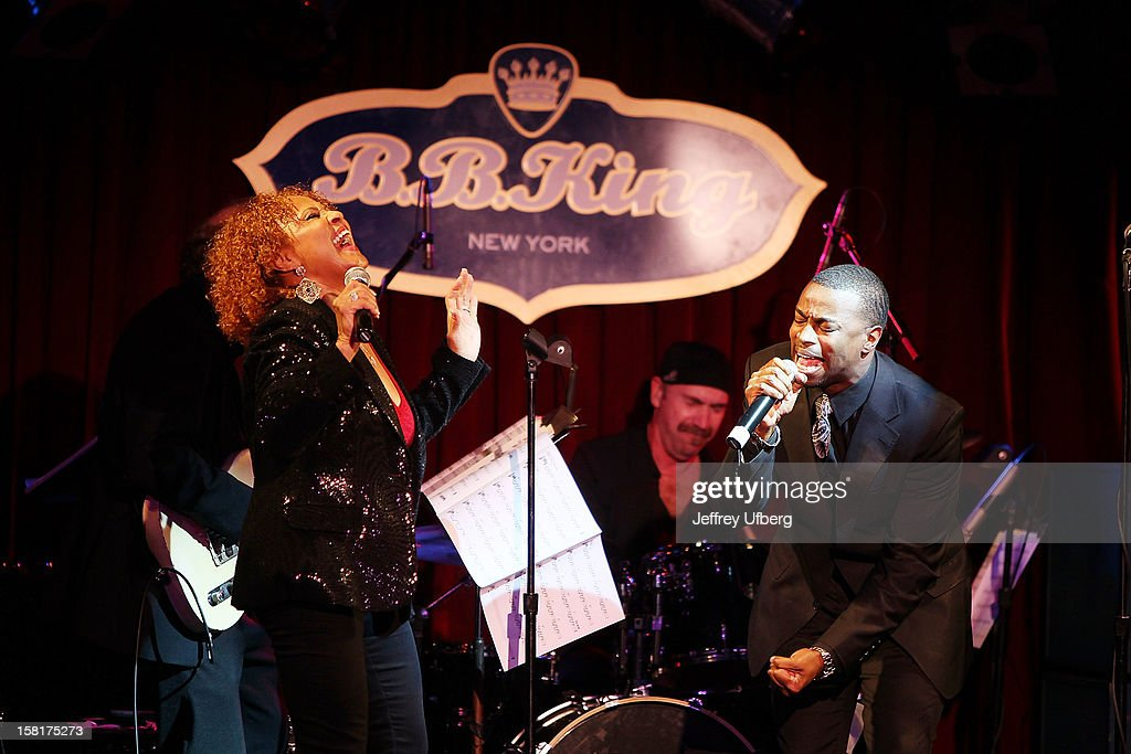 Singer Darlene Love performs during the 2012 Darlene Love Christmas Show at B.B. King Blues Club & Grill on December 10, 2012 in New York City.