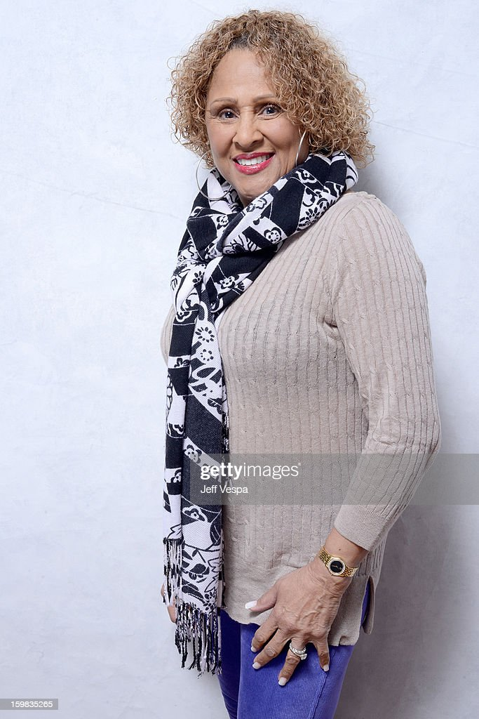 Singer <a gi-track='captionPersonalityLinkClicked' href=/galleries/search?phrase=Darlene+Love&family=editorial&specificpeople=220743 ng-click='$event.stopPropagation()'>Darlene Love</a> poses for a portrait during the 2013 Sundance Film Festival at the WireImage Portrait Studio at Village At The Lift on January 21, 2013 in Park City, Utah.