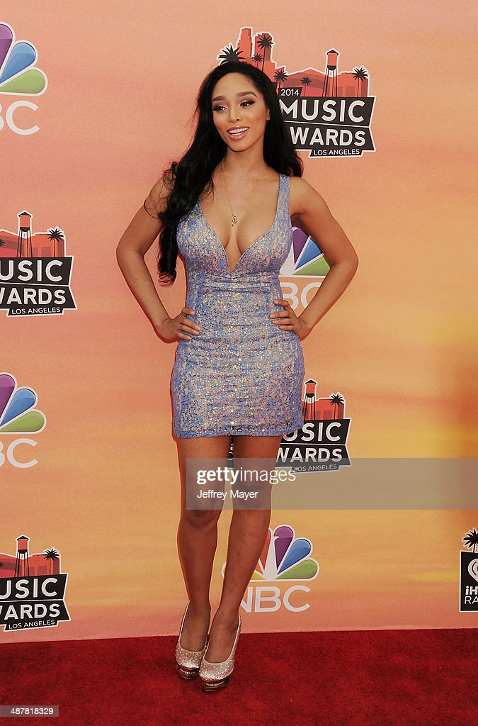 Singer Darnaa attends the 2014 iHeartRadio Music Awards held at The Shrine Auditorium on May 1, 2014 in Los Angeles, California.