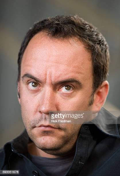Singer Dave Matthews at the press conference prior to the Farm Aid concert at the Comcast Center in Mansfield