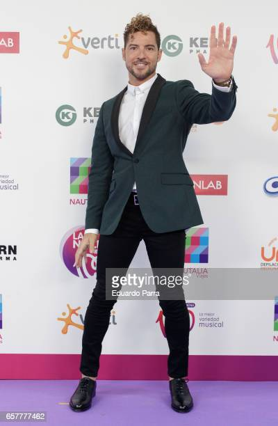 Singer David Bisbal attends the 'La Noche de Cadena 100' photocall at Wizink Center on March 25 2017 in Madrid Spain