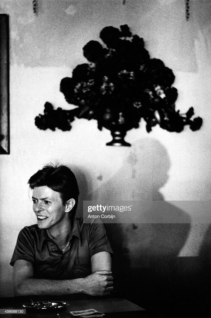 Singer <a gi-track='captionPersonalityLinkClicked' href=/galleries/search?phrase=David+Bowie&family=editorial&specificpeople=171314 ng-click='$event.stopPropagation()'>David Bowie</a> is photographed for NME on August 19, 1980 in Chicago, Illinois.