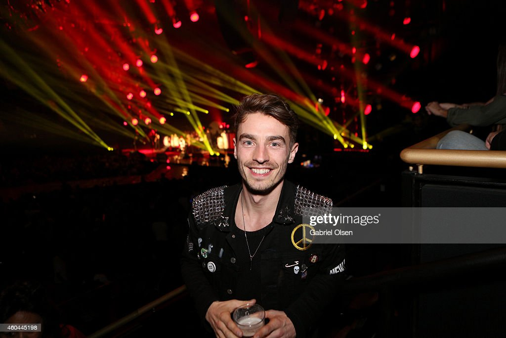 Singer David Boyd of New Politics attends day one of the 25th annual KROQ Almost Acoustic Christmas at The Forum on December 13, 2014 in Inglewood, California.