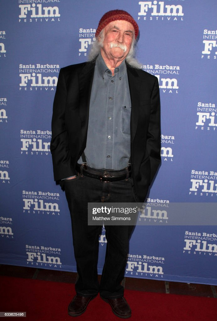 Singer David Crosby attends the Maltin Modern Master Award tribute during the 32nd Santa Barbara International Film Festival at the Arlington Theater on February 2, 2017 in Santa Barbara, California.