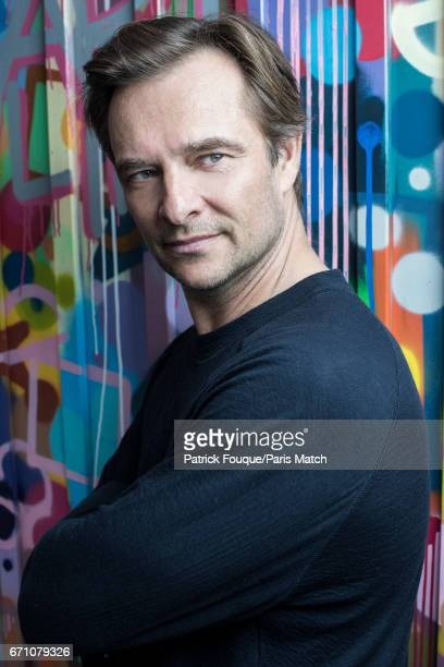 Singer David Hallyday is photographed for Paris Match on February 21 2017 in Paris France
