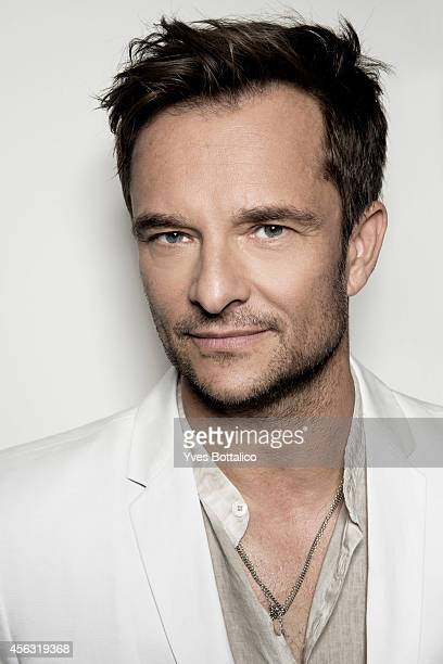 Singer David Hallyday is photographed for Self Assignment on August 9 2014 in Paris France