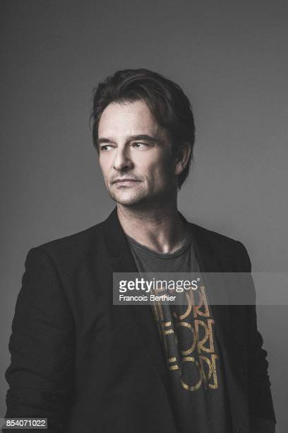 Singer David Hallyday is photographed for Self Assignment on February 10 2017 in Paris France