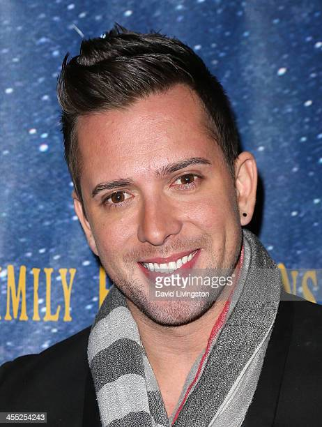 Singer David Hernandez attends 'Aladdin and His Winter Wish' opening night at the Pasadena Playhouse on December 11 2013 in Pasadena California