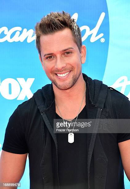 Singer David Hernandez attends Fox's 'American Idol 2013' Finale Results Show at Nokia Theatre LA Live on May 16 2013 in Los Angeles California