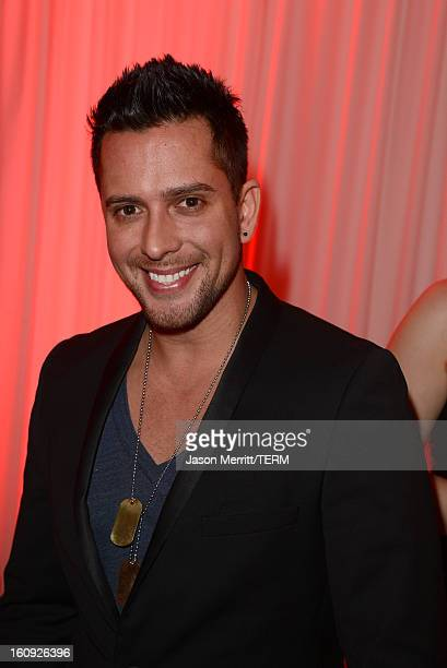 Singer David Hernandez attends Quattro Volte Vodka Preview with Taio Cruz at SLS Hotel on February 7 2013 in Beverly Hills California