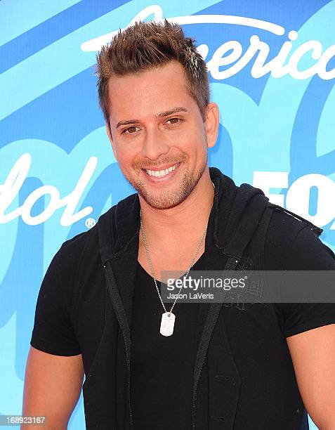 Singer David Hernandez attends the American Idol 2013 finale at Nokia Theatre LA Live on May 16 2013 in Los Angeles California
