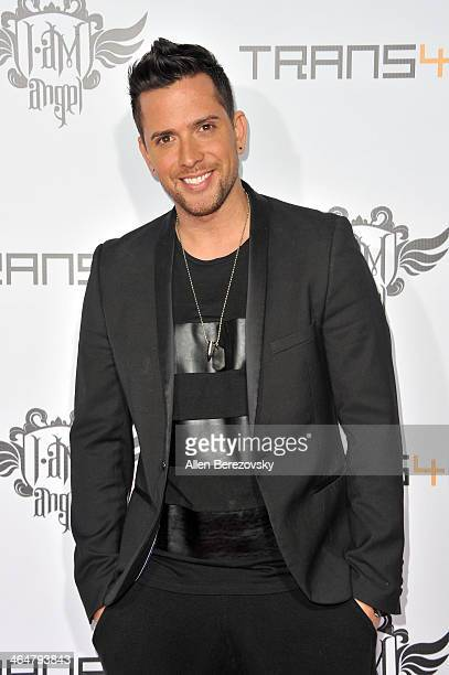 Singer David Hernandez attends the william hosted third annual TRANS4M concert benefitting the iamangel Foundation at Avalon on January 23 2014 in...