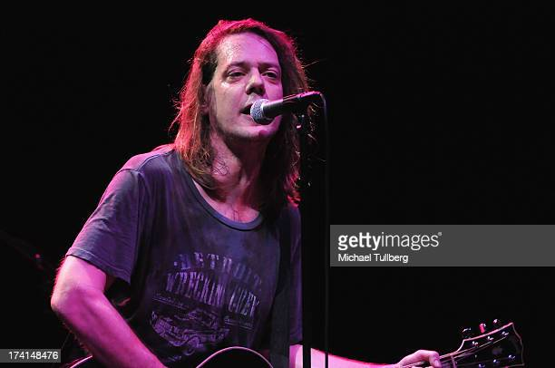 Singer David Pirner of Soul Asylum performs live at the LP Tour at the Wiltern Theatre on July 20 2013 in Los Angeles California