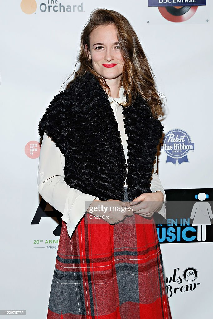 Singer Dawn Landes attends the Women In Music presents the 2013 holiday party at Le Poisson Rouge on December 4, 2013 in New York City.