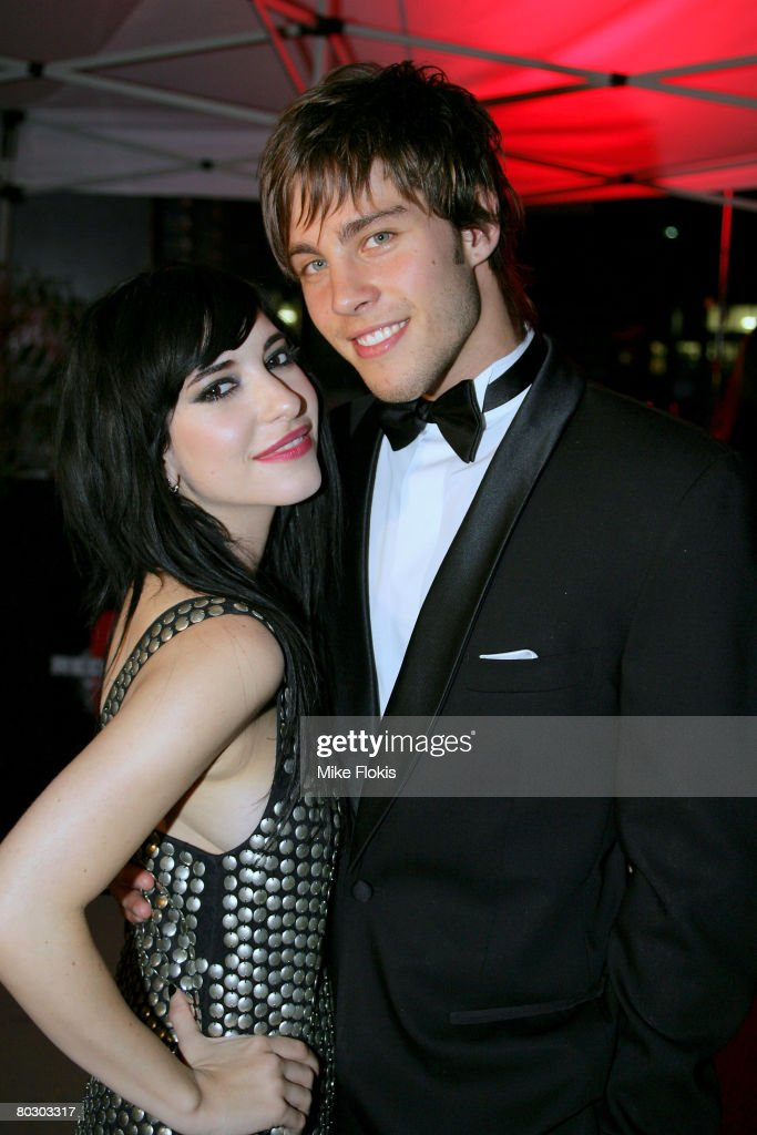 Singer Dean Geyer and Lisa Marie Origliasso of The Veronicas pose for a photo at a cocktail party for the announcement of the `2008 Cleo Bachelor of...