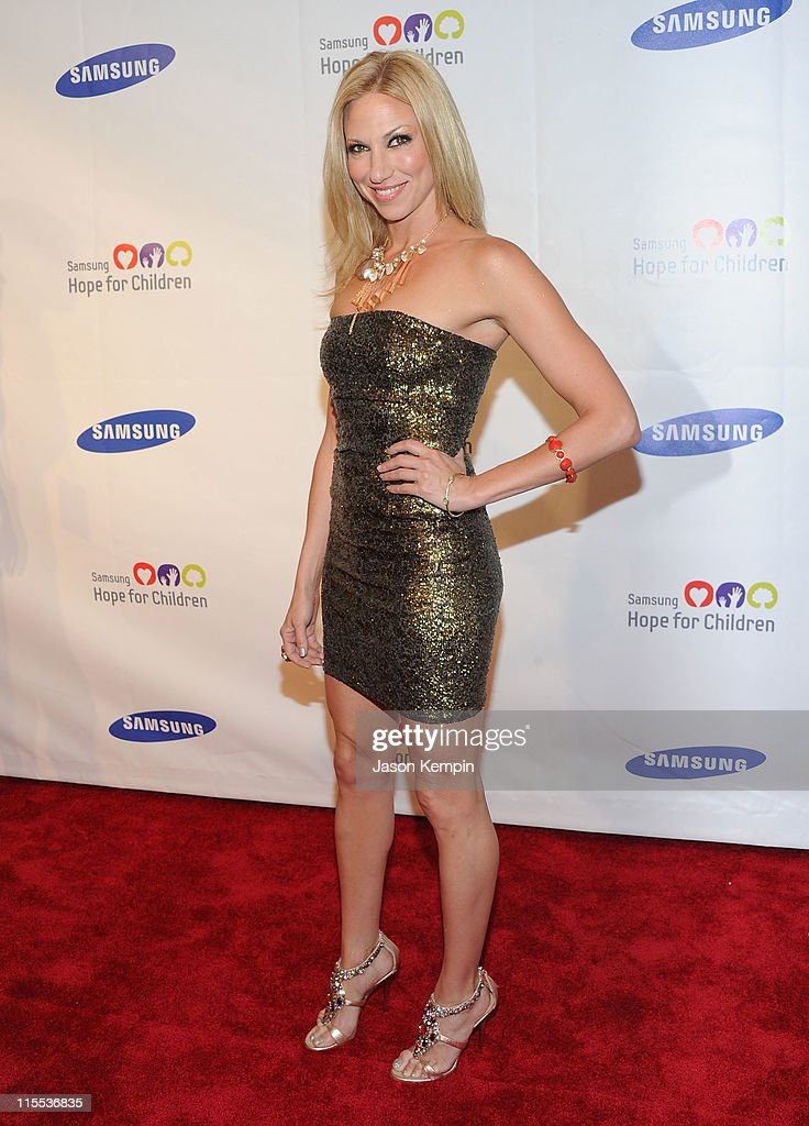 Singer Debbie Gibson attends the Samsung Hope for Children gala at Cipriani Wall Street on June 7, 2011 in New York City.