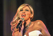 Singer Debbie Gibson performs during The Spirit Of Christmas Concert at CoCathedral of St Joseph on December 18 2014 in New York City
