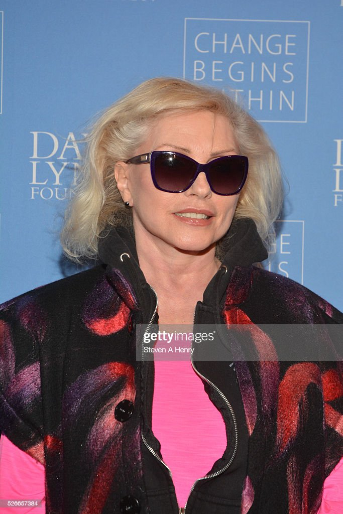 Singer Debbie Harry attends 'An Amazing Night Of Comedy: A David Lynch Foundation Benefit For Veterans With PTSD' at New York City Center on April 30, 2016 in New York City.