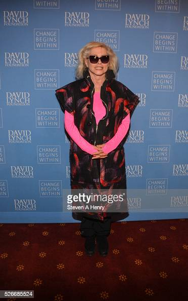Singer Debbie Harry attends 'An Amazing Night Of Comedy A David Lynch Foundation Benefit For Veterans With PTSD' at New York City Center on April 30...