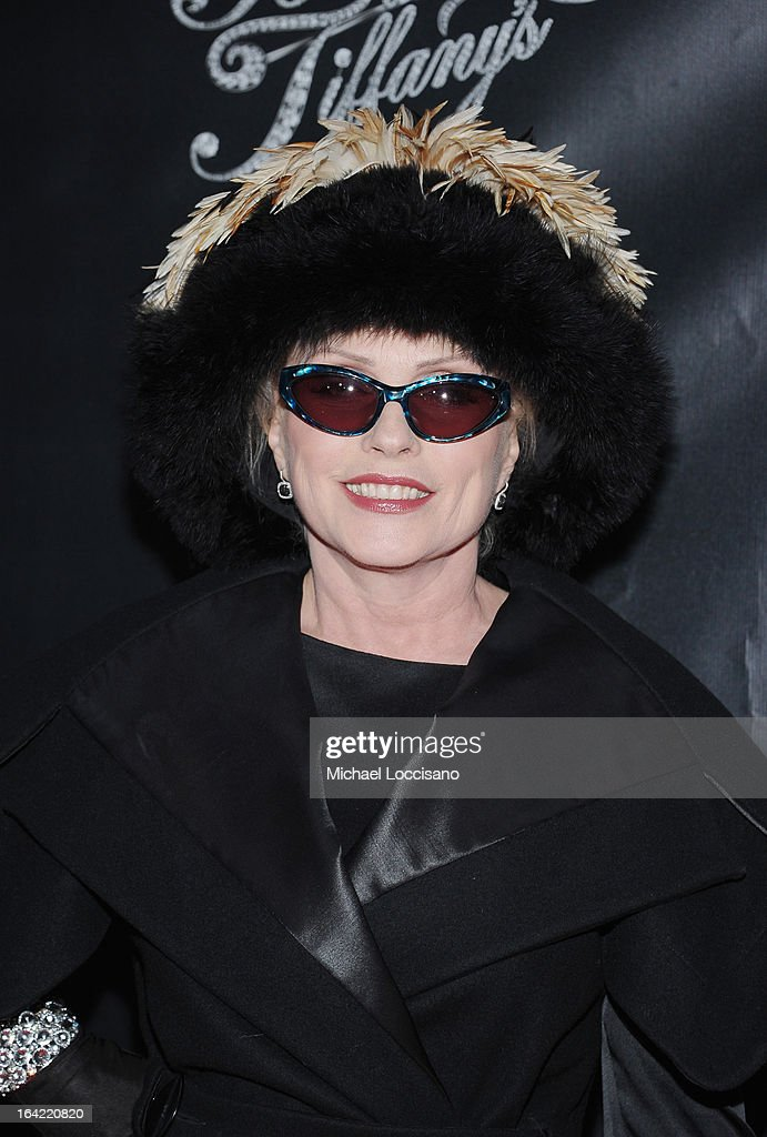 Singer Debbie Harry attends the 'Breakfast At Tiffany's' Broadway Opening Night at Cort Theatre on March 20, 2013 in New York City.