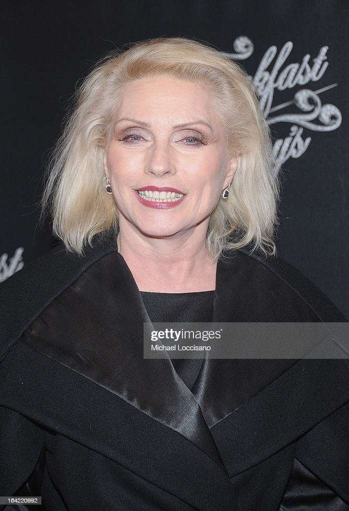 Singer Debbie Harry attends the 'Breakfast At Tiffany's' Broadway Opening Night after party at The Edison Ballroom on March 20, 2013 in New York City.
