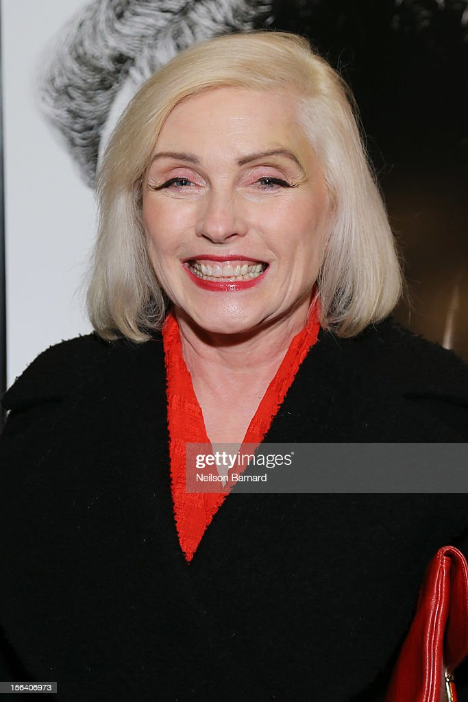 Singer Debbie Harry attends the special screening of Steven Spielberg's Lincoln at the Ziegfeld Theatre on November 14, 2012 in New York City.
