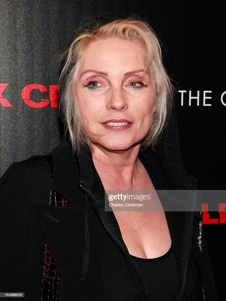 Singer Debbie Harry attends The the Cinema Society & Grey Goose screening of 'Alex Cross' at Tribeca Grand Screening Room on October 18, 2012 in New York City.
