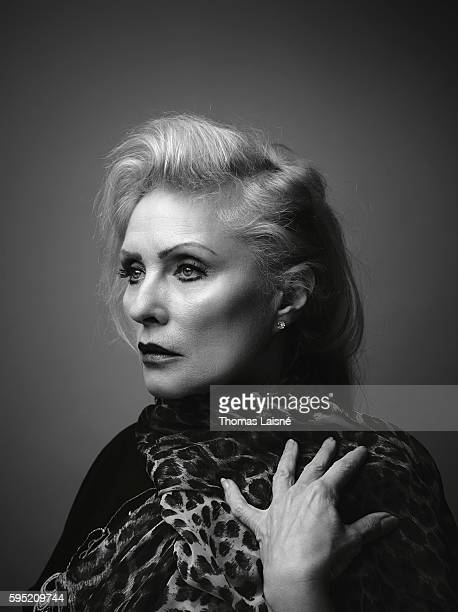 Singer Debbie Harry is photographed for Self Assignment on January 21 2014 in Paris France