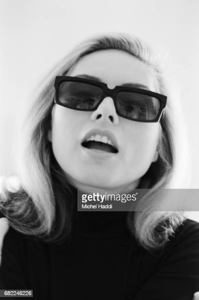 Singer Debbie Harry is photographed for Vogue magazine on September 22 1994 in London England