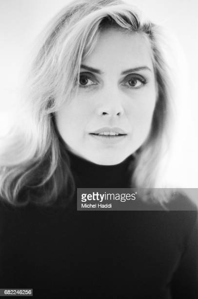 Singer Debbie Harry is photographed for Vogue magazine on September 22 1994 in London England