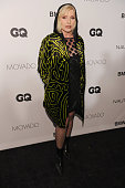 Singer Debbie Harry walks the red carpet at the 2013 GQ Gentlemen's Ball presented by BMW i Movado and Nautica at IAC Building on October 23 2013 in...