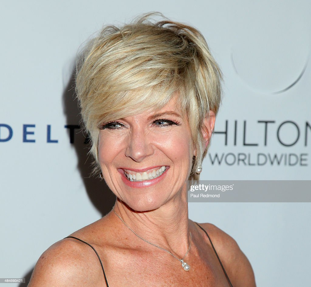 Singer <a gi-track='captionPersonalityLinkClicked' href=/galleries/search?phrase=Debby+Boone&family=editorial&specificpeople=984195 ng-click='$event.stopPropagation()'>Debby Boone</a> arriving at the 25th Annual GLAAD Media Awards at The Beverly Hilton Hotel on April 12, 2014 in Beverly Hills, California.