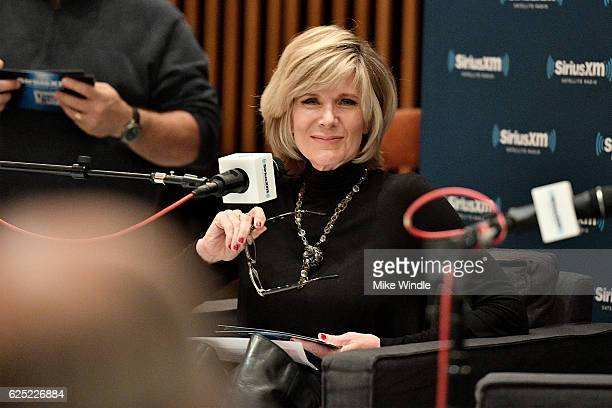Singer Debby Boone speaks onstage during SiriusXM's Town Hall with Pat Boone at Capitol Records Tower on November 22 2016 in Los Angeles California