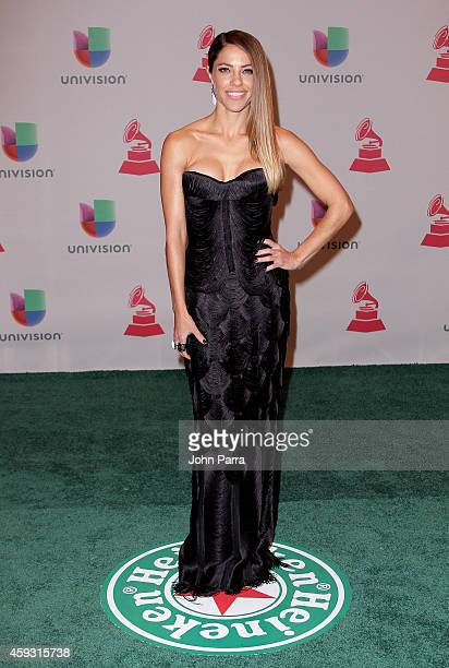 Singer Debi Nova attends the 15th annual Latin GRAMMY Awards at the MGM Grand Garden Arena on November 20 2014 in Las Vegas Nevada
