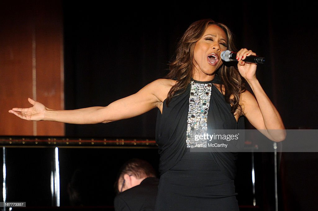Singer Deborah Cox performs at the Family Equality Council's Night at the Pier at Pier 60 on April 29, 2013 in New York City.