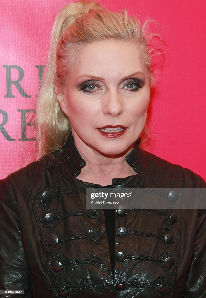 Singer Deborah Harry attends the after party following the 2010 Victoria's Secret Fashion Show at Lavo on November 10, 2010 in New York City.