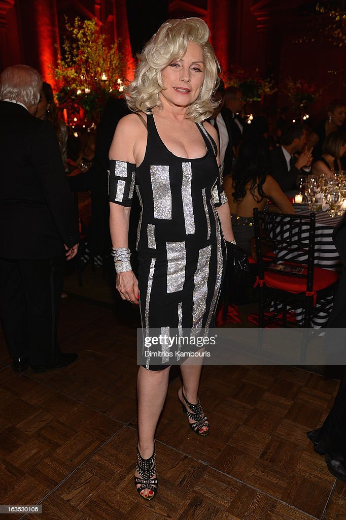 Singer Deborah Harry attends the Endometriosis Foundation of America's Celebration of The 5th Annual Blossom Ball at Capitale on March 11, 2013 in New York City.